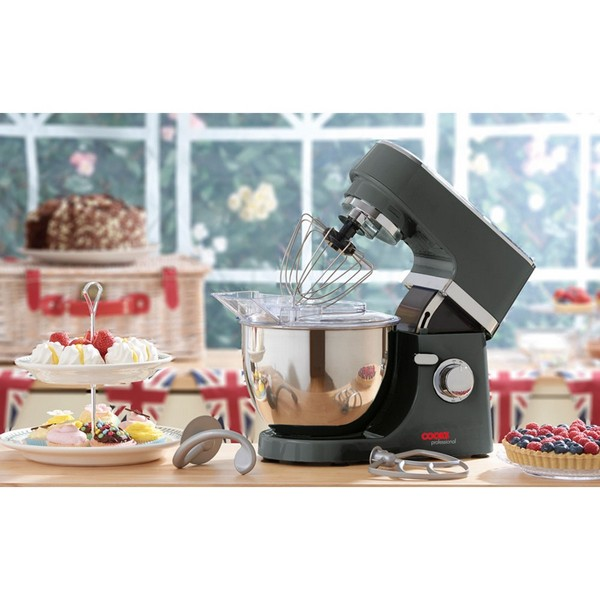 Cooks Professional G0051 Graphite 5L Stand Mixer No Colour