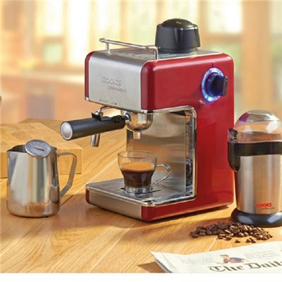 Cooks Professional D7500 Red Italian Espresso Coffee Machine