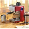 Cooks Professional Italian Espresso Coffee Machine Red