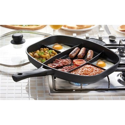 Cooks Professional G0733 Multi-Section Frying Pan
