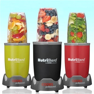 Cooks Professional D8467 Black 10pc Nutriblend 700W Blender