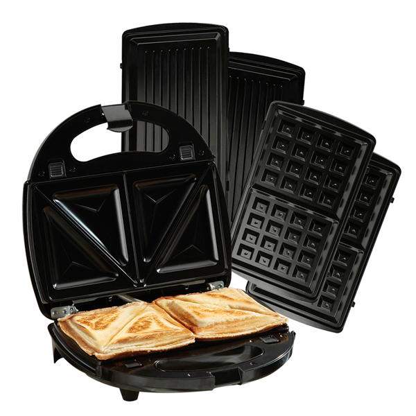 Cooks Professional G1132 2-in-1 Sandwich Maker and Grill No Colour