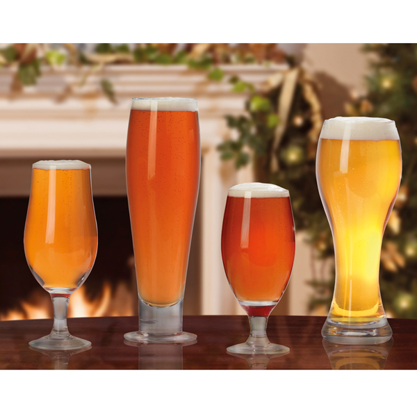 Cooks Professional D9175 Craft Beer Glasses Without Logos (4 Pack) No Colour