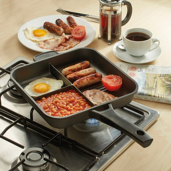 Cooks Professional G0636 Three Section Multi Pan No Colour