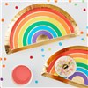 Ginger Ray Rainbow Plate