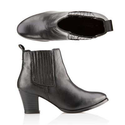 Comfort Leather Chelsea Ankle Boot