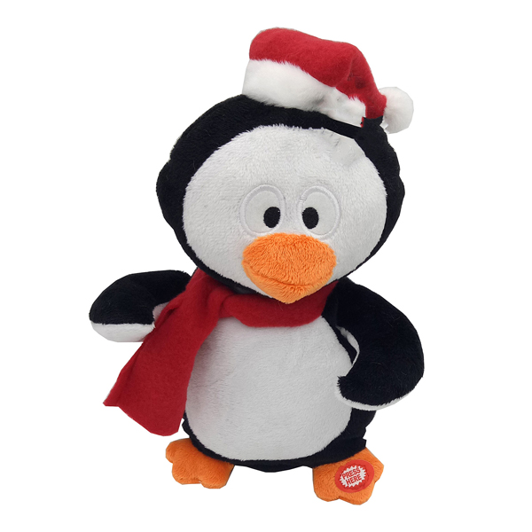 Musical Christmas Penguin 30cm No Colour