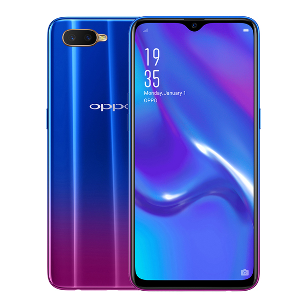 Oppo RX17 Neo Smartphone - 6.41inch, 4GB RAM, 128GB Storage, 25MP Front Camera & Dual 16MP Camera Astral Blue
