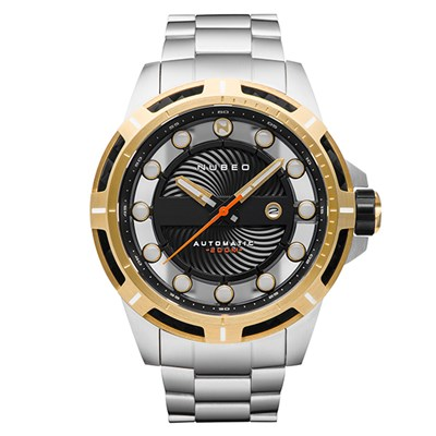 Nubeo Gent's ORBIT Automatic Watch with Stainless Steel Strap