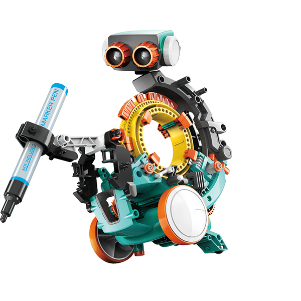 5 in 1 Mechanical Coding Robot No Colour