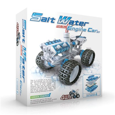 Salt Water 4 x 4 Engine Car