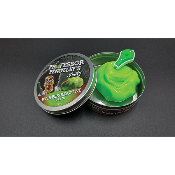 Professor Pengelly's UV React Green Putty No Colour