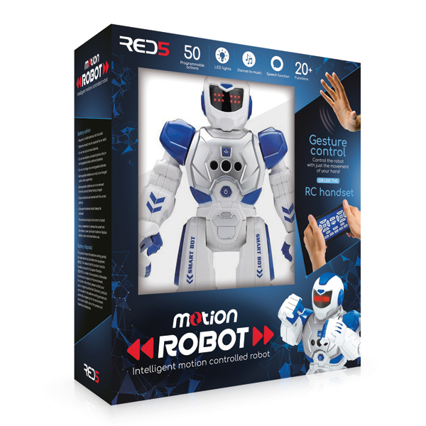 RED5 Motion Controlled Robot No Colour