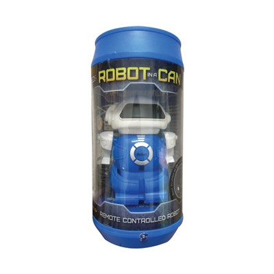 RED5 Blue Robot in a Can