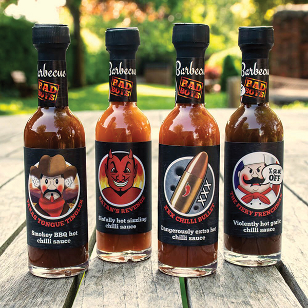 Treat Factory Barbecue Bad Boys Sauce Selection No Colour