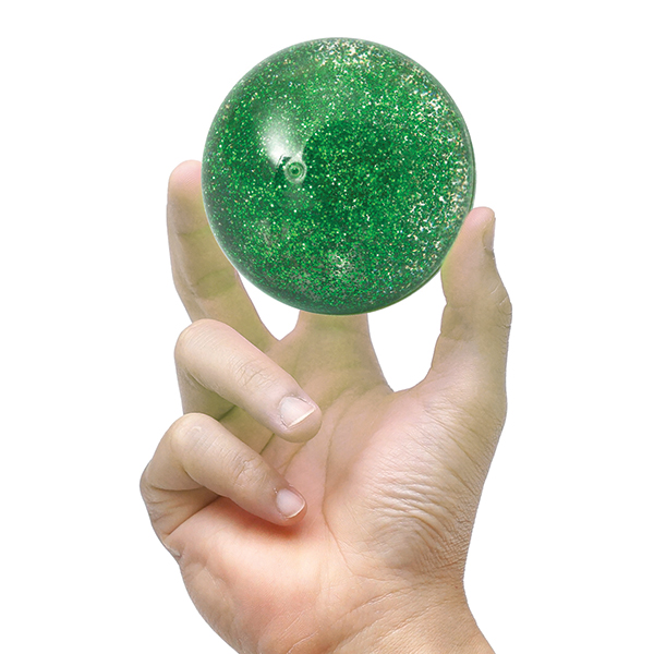 Crystal Bouncy Ball Flashing Stardust No Colour