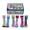 Odd Socks 6 Individual Socks Sizes 4 - 8