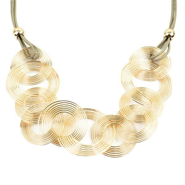 Multi Loops Magnetic Necklace