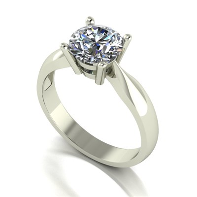 Moissanite 9ct Gold 1.50ct Solitaire Ring
