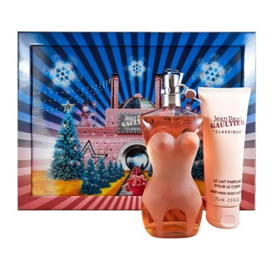 Jean Paul Gaultier Classique EDT 100ml and Body Lotion 75ml