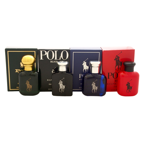 Ralph Lauren World of Polo Miniatures Set 15ml No Colour