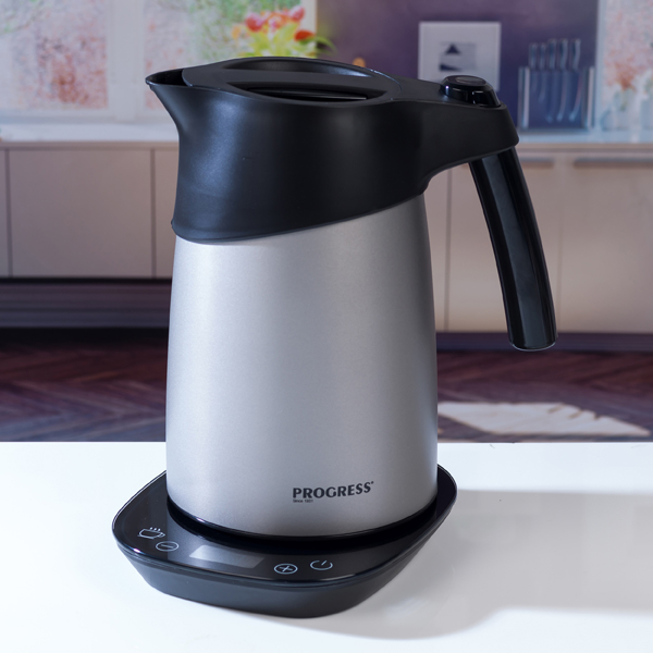 Progress Smart Boil Kettle 1.5L with Thermal Heat-Lock Technology No Colour