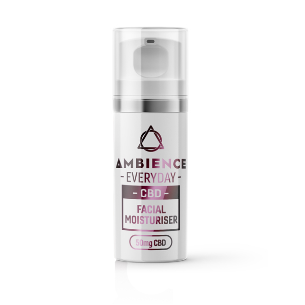 Ambience CBD Infused Facial Moisturiser 50mg 30ml No Colour