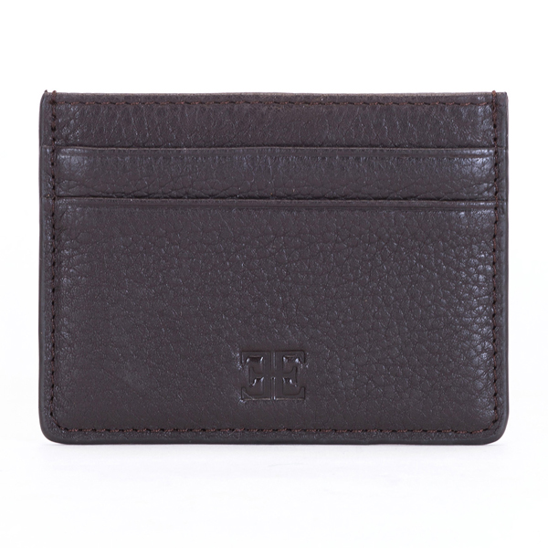 Thomas Earnshaw Leather Cardholder Brown
