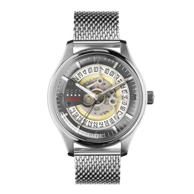 CCCP Gent's Sputnik-2 Automatic Watch with Milanese Bracelet