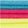 Microfibre Cloths Pack of 6 - 2 x Blue, 2 x Pink, 2 x Yellow