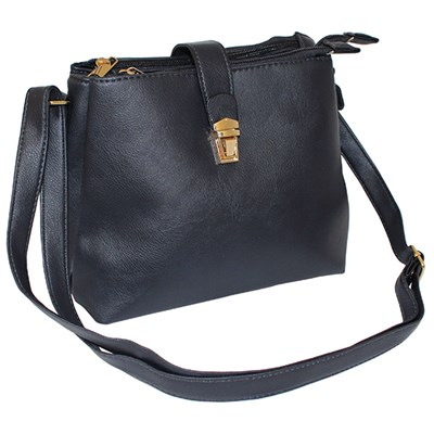Shoulder Bag with Fastening