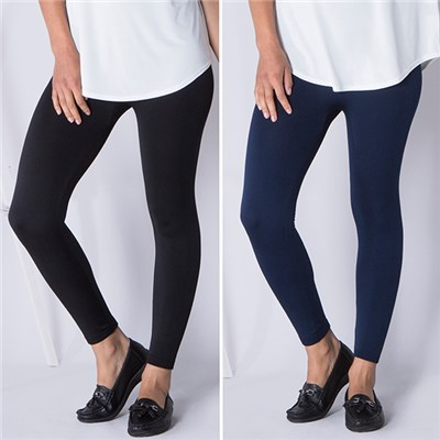Emelia 2-Pack Viscose-Rich Leggings