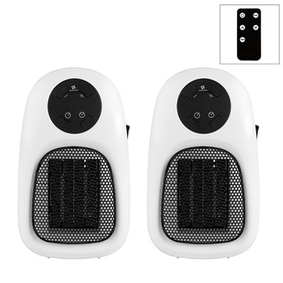 Beldray Personal Heater with Remote Control (Twin Pack)