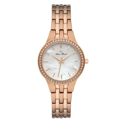 Lucien Piccard Ladies' Jayne Watch with Stainless Steel Bracelet