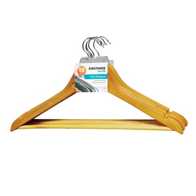 KINGFISHER Coat Hangers (10 Pack)