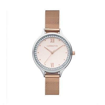 Carrington Elsie Ladies' Watch with Stainless Steel Bracelet