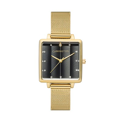 Carrington Eleanor Ladies' Watch with Stainless Steel Bracelet
