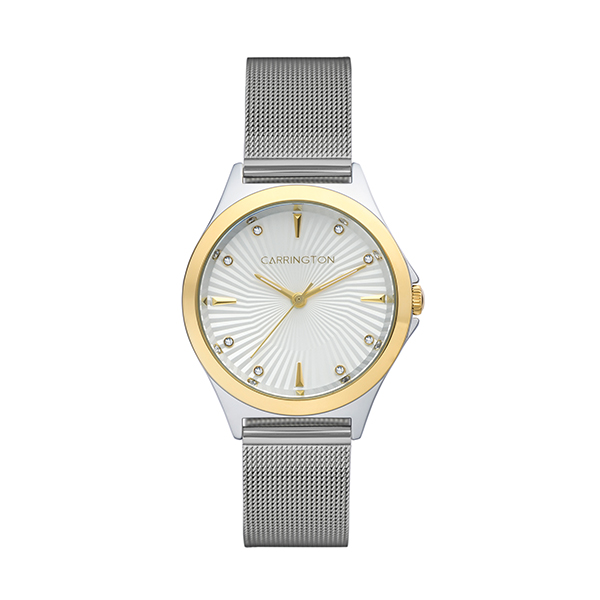 Carrington Rania Ladies' Watch with Stainless Steel Bracelet Silver