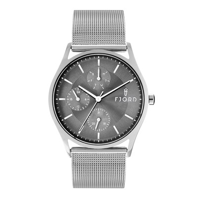 Fjord Gent's Eskel Watch with Stainless Steel Bracelet