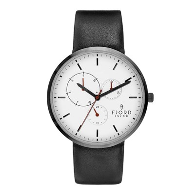 Fjord Gent's Juhl Watch with Genuine Leather Strap