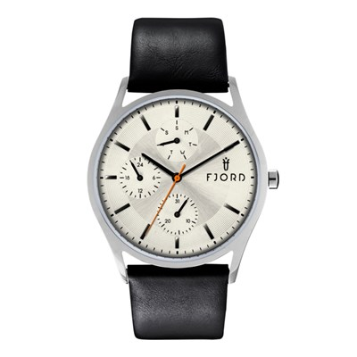 Fjord Eskel Gent's Watch with Genuine Leather Strap