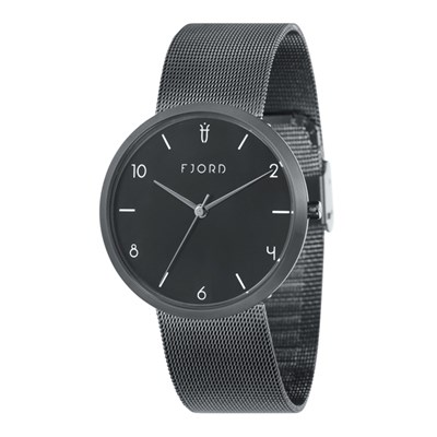 Fjord Gent's Laurens Watch with Stainless Steel Bracelet