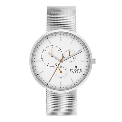 Fjord Juhl Gent's Watch with Stainless Steel Bracelet