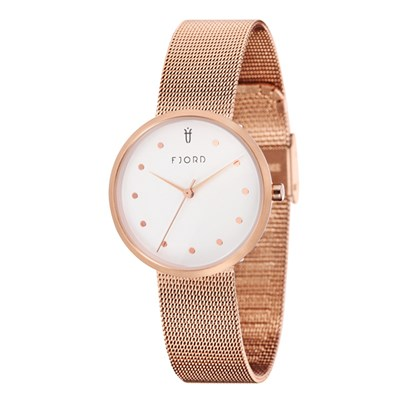 Fjord Laurens Ladies' Watch with Stainless Steel Bracelet