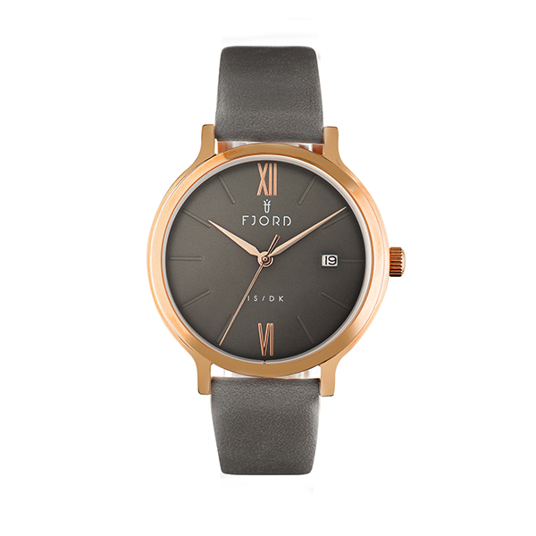 Image of Fjord Ladies' Kerling Watch with Genuine Leather Strap