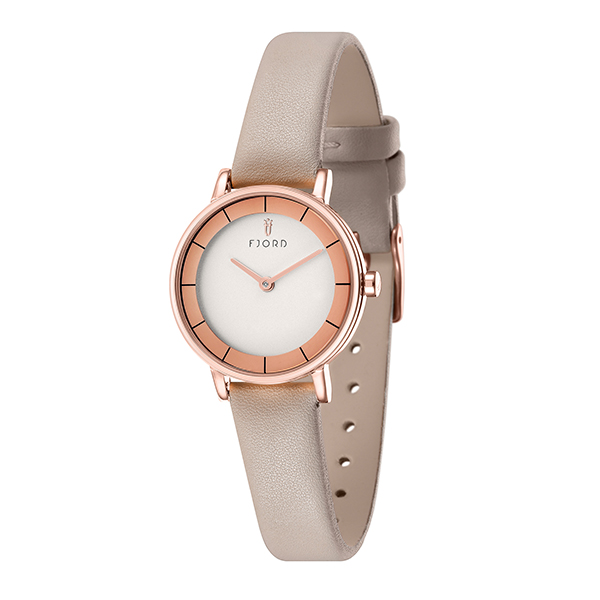 Image of Fjord Marina Ladies' Watch with Genuine Leather Strap