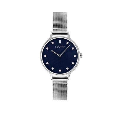 Fjord Niklaas Ladies' Watch with Stainless Steel Bracelet