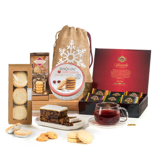 Hay Hampers Christmas Tea Time Gift Box No Colour