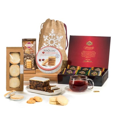 Hay Hampers Christmas Tea Time Gift Box