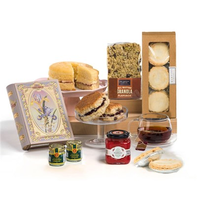Hay Hampers Christmas Cream Tea Gift Box